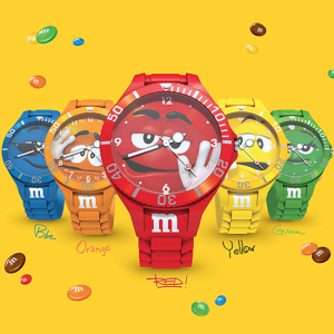 M&M's Watch