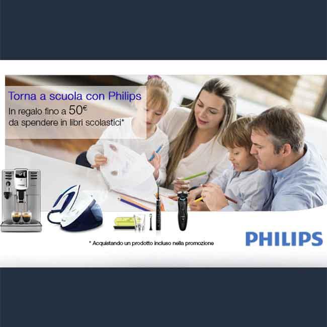 Acquista philips ricevi buono sconto amazon da 50 sui for Codice promozionale amazon libri scolastici