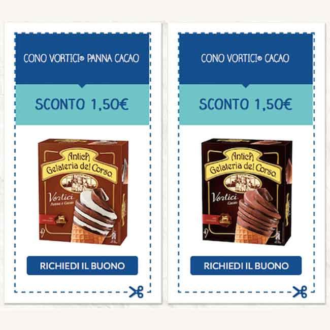 Antica gelateria del corso sconti buoni sconto for Sconti coupon amazon